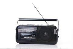 Registratore a cassetta radiofonico Fotografie Stock