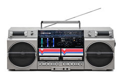 registratore dell'audio di Retro-stile Immagini Stock