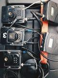 Registratore sonoro senza fili portatile Immagini Stock Libere da Diritti