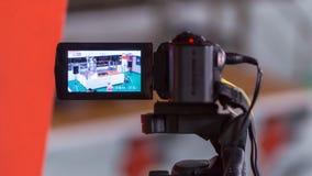 Registrazione della macchina fotografica Immagine Stock