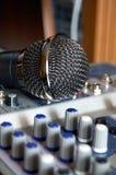 Registrazione di voce e del suono Fotografia Stock