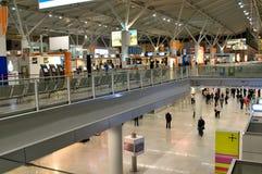 Registrazione nell'aeroporto di Frederic Chopin Fotografia Stock