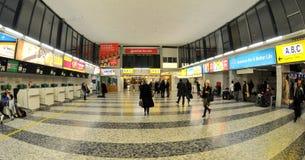 Registrazione nell'aeroporto di Vienna Fotografia Stock