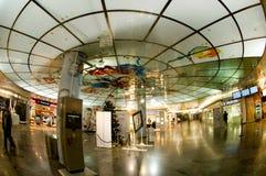 Registrazione nell'aeroporto di Wiena Fotografia Stock Libera da Diritti