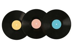 registrerad vinyl Royaltyfri Foto
