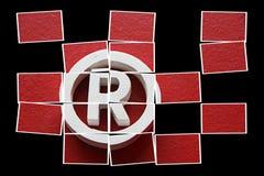 registreringsvarumärke fotografering för bildbyråer