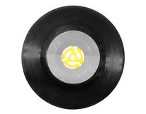 registro de 45 RPM Imagens de Stock Royalty Free