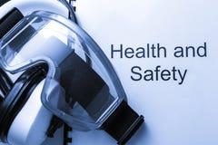 Registro de salud y de la seguridad Imágenes de archivo libres de regalías