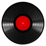Registro de vinil Foto de Stock Royalty Free