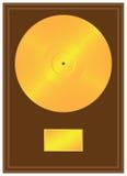 Registro do ouro Imagens de Stock