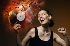Registro musical fotografia de stock royalty free