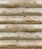 Registros de madeira velhos sem emenda Imagem de Stock