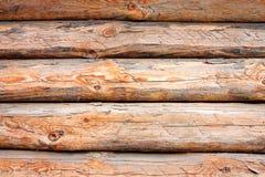 Registros de madera Fotos de archivo libres de regalías