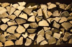 Registros de madera Imagenes de archivo