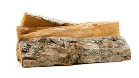 Registros, madera del fuego Imágenes de archivo libres de regalías