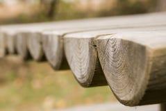 Registros redondos da madeira Foto de Stock