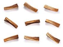 Registros secos do carvalho Fotografia de Stock