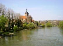 Regiswindiskirche, Lauffen am Neckar Imagem de Stock Royalty Free