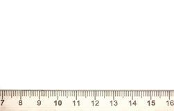 Regla foto de archivo libre de regalías