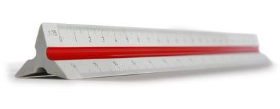 Regla de la escala Foto de archivo libre de regalías