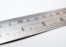 Regla de la escala Imagenes de archivo