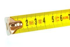 Regla de la medida imagen de archivo libre de regalías