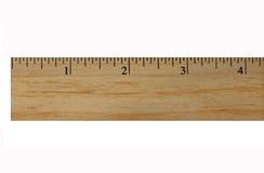 Regla de madera Foto de archivo libre de regalías