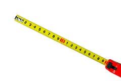 Regla de medición Foto de archivo libre de regalías