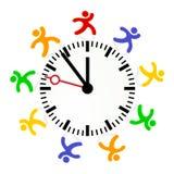 Regla del tiempo Fotografía de archivo