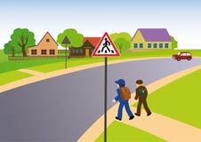 Reglas de camino libre illustration
