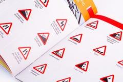 Reglas de tráfico Imagen de archivo libre de regalías