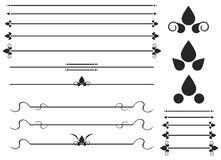 Reglas ornamentales Imagen de archivo