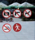 Reglas y regulaciones en Kishinev Fotografía de archivo libre de regalías