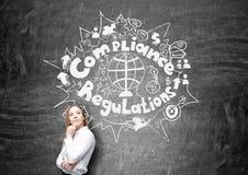Reglemente och överensstämmelse Royaltyfri Foto