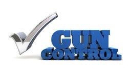 Reglementierung von Waffenbesitz - öffentliche Sicherheit Lizenzfreies Stockbild