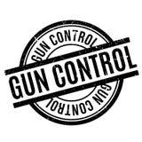 Reglementierung von Waffenbesitz-Stempel Lizenzfreie Stockfotografie