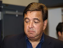 Regler Bill Richardson Lizenzfreie Stockfotos