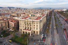 Reglera Militar de Barcelona Royaltyfri Bild