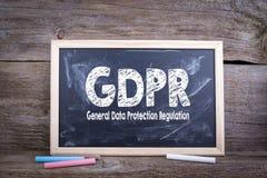 Reglering för skydd för allmänna data för GDPR royaltyfria bilder