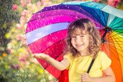 regn Royaltyfri Fotografi