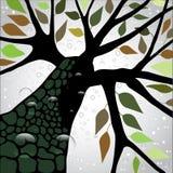 Regn! stock illustrationer