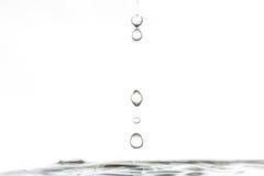 Regn av droppar Arkivbild