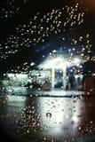 Regn i Los Angeles Arkivbilder
