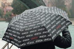 regn venice royaltyfria foton