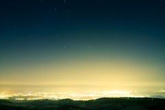 regna stjärna fotografering för bildbyråer