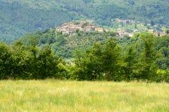 Regnano, Tuscany (Włochy) Fotografia Stock