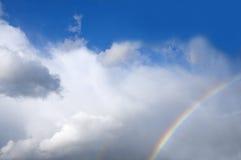 regnbågar Arkivfoto