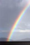 Regnbåge över fjärden Tasmanien för vinexponeringsglas Arkivbilder