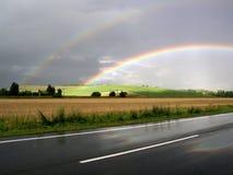 regnbåge Royaltyfria Bilder