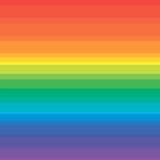 Regnbågebakgrund för sommar vektor illustrationer